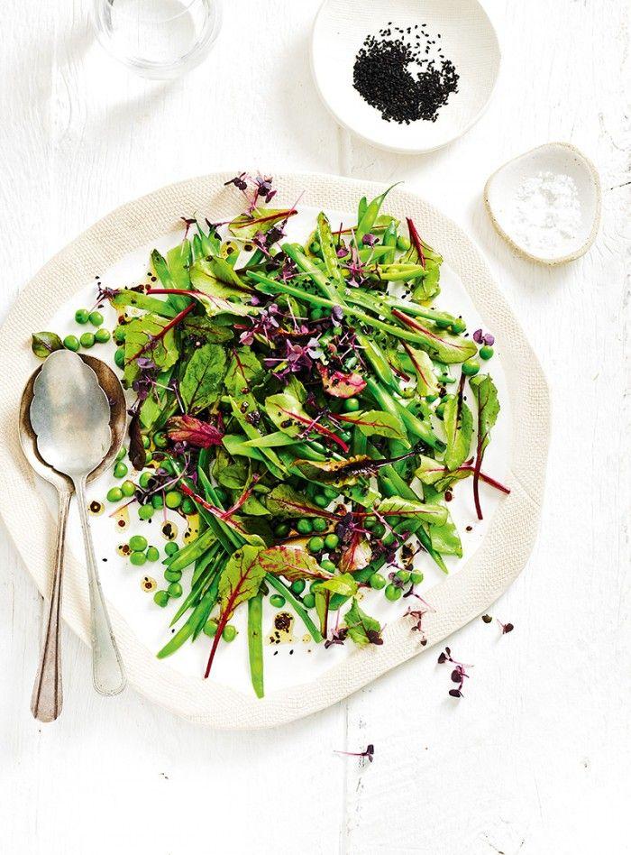 Bean & Pea Salad with Basil & Nigella Seeds | Christmas | MiNDFOOD
