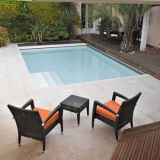 Modelos de piscinas peque as para bajos presupuestos y jardines peque os jardin pinterest - Piscinas para jardines pequenos ...