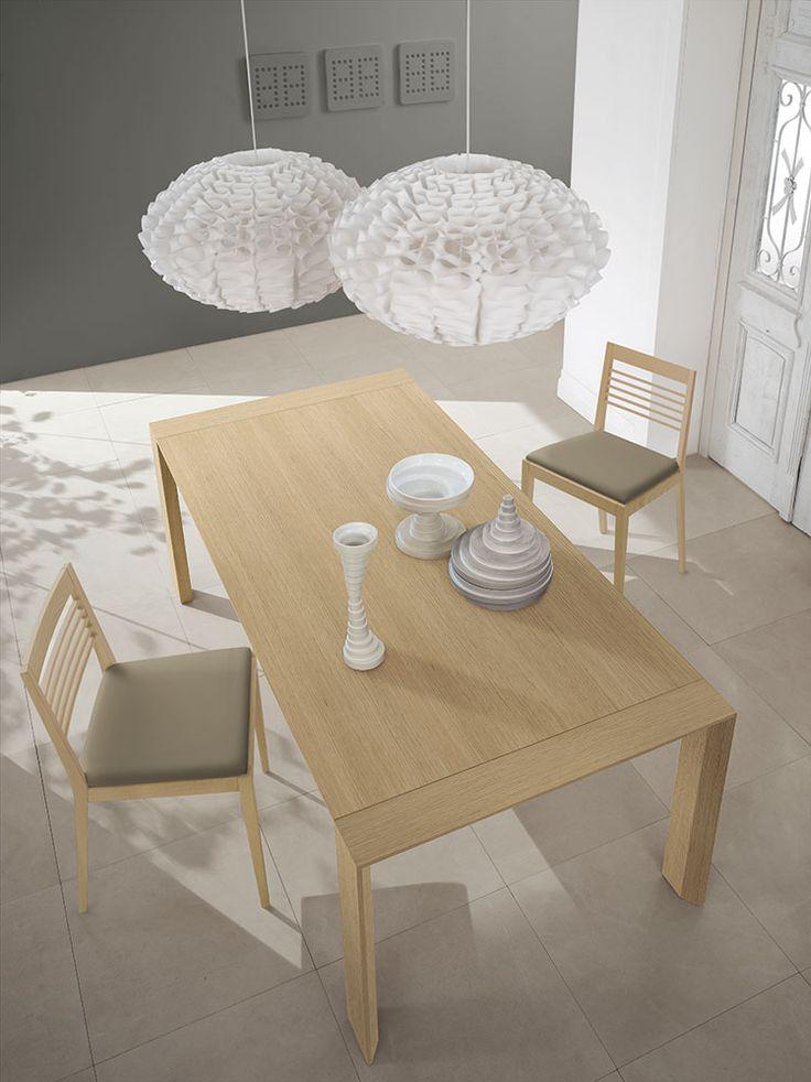 Complementi by ALF + DAFRÈ. BRERA 2.0, Tavolo allungabile, finiture: Fashion wood Rovere Naturale .