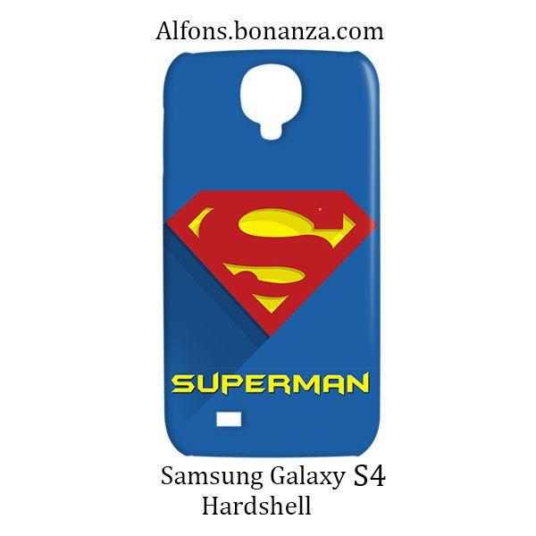 Superman Superhero Samsung Galaxy S4 S IV Hardshell Case