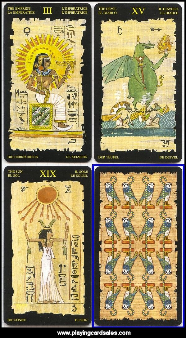 Egyptian Tarot Kit Deck Book Loscar: Ancient Egyptian Tarot Cards Tarot Cards Are The Doorway