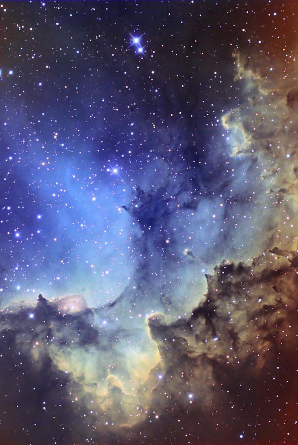 Ngc 7380 Emission Nebula In Cepheus