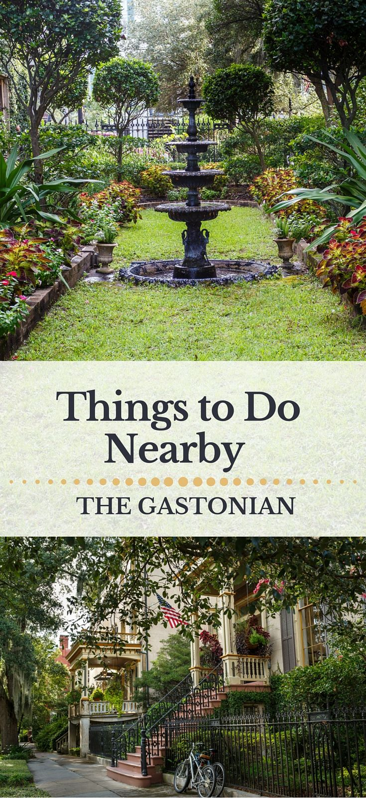 Things to do in Savannah when you stay at The Gastonian.  Activities and interesting sites near The Gastonian hotel.   http://www.gastonian.com/area-guide.htm