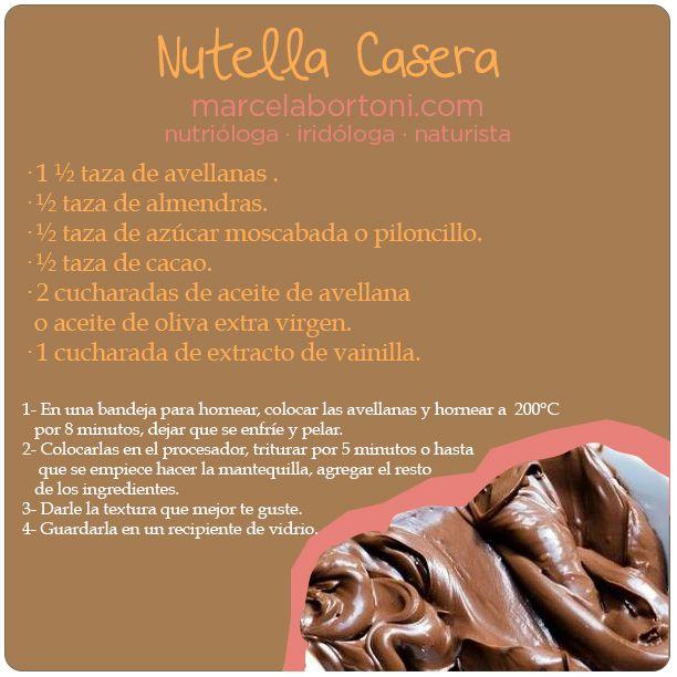 Nutella Casera...