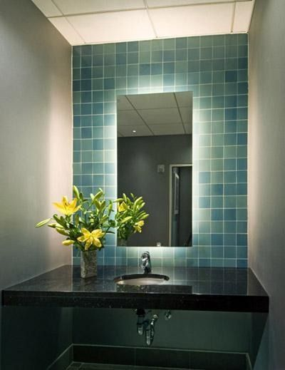 Backlit Mirror Bathroom Sink Bathroom Ideas Pinterest