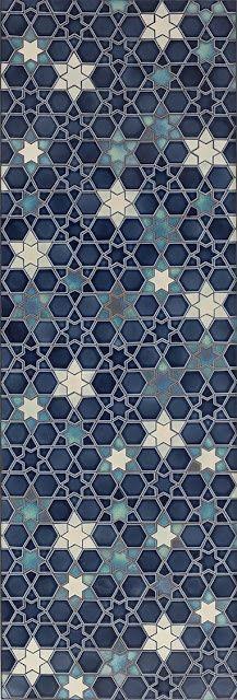 Starry Sky mosaics from Pratt & Larson (via Pinterest) I'd like this in my open kitchen area…or anywhere!