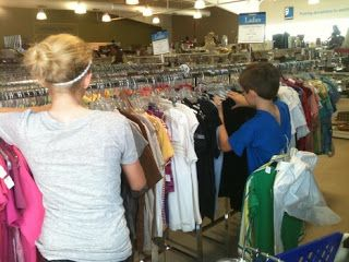 Piece Of Scrap Sales on eBay: How to make thrift store shopping fun for kids