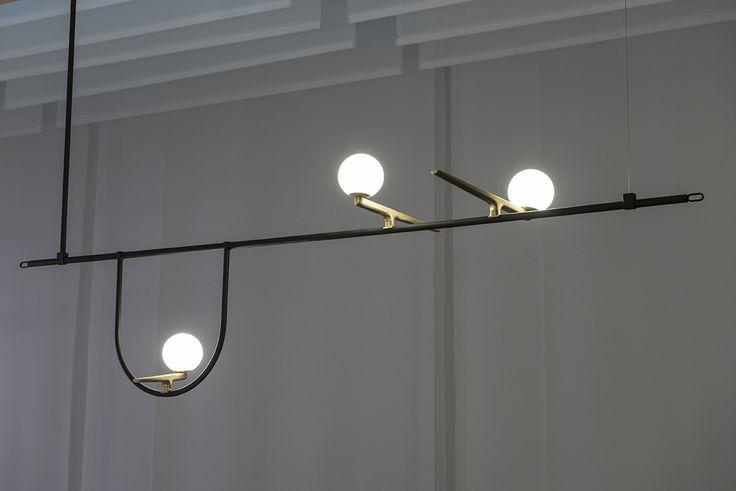#Yanzi suspension designed by Neri & Hu #ArtemideEuroluce #ArtemideMDW17