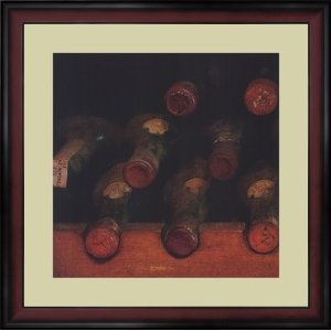 Amazon Vintage Wine Cellar I Framed Art By Amy Melious Size Dining Room