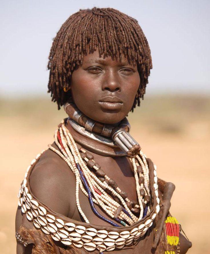 внешний вид племени Хамер, фото, Эфиопия