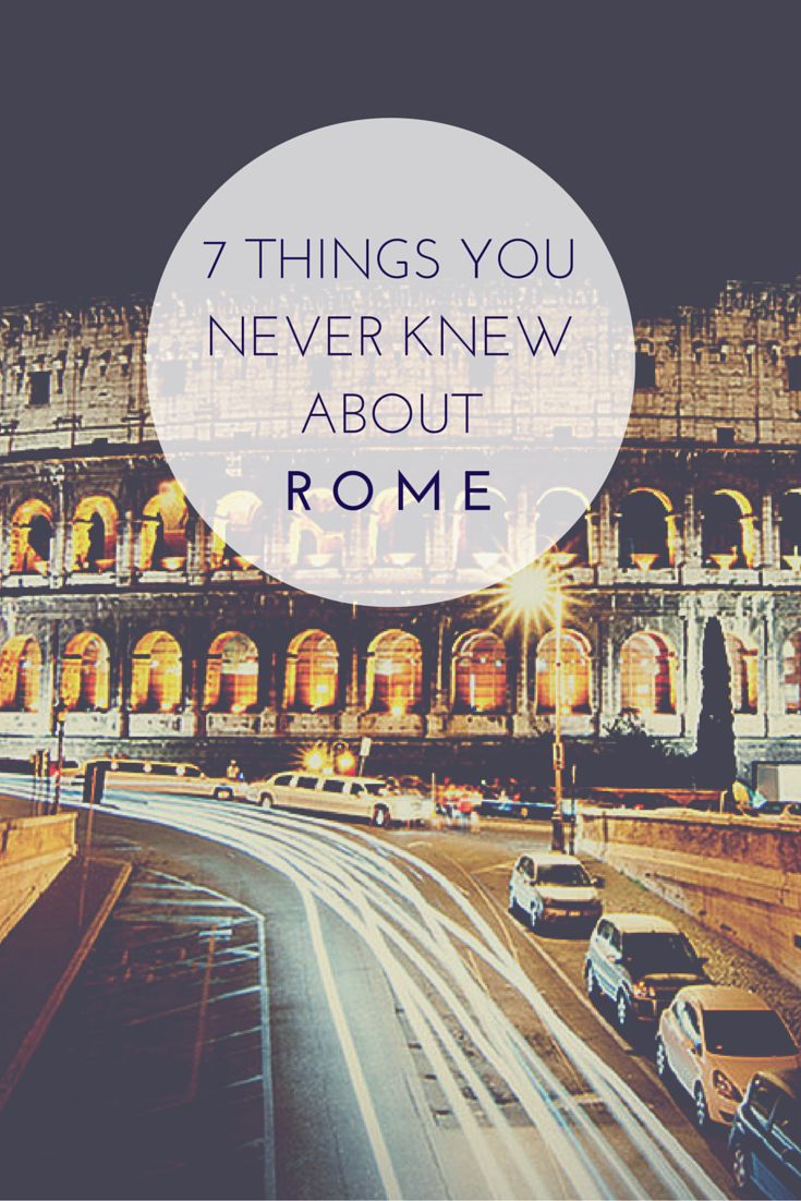 """How to see the """"Eternal City"""" through local eyes"""