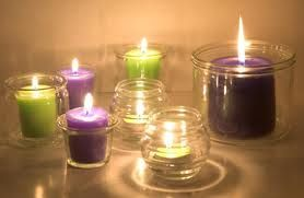Scented candles #MeTime