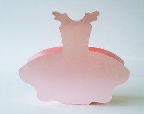 Caixa Vestido Bailarina