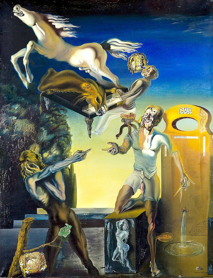 "Dali Salvador William Tell Paris Centre Pompidou National Museum Of Modern Art 1930 (from <a href=""http://www.oldpainters.org/picture.php?/32763/category/338"">serra</a>)"