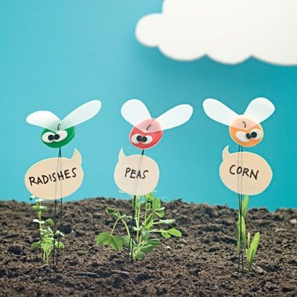1000 images about diy plant tags markers on pinterest for Garden crafts for toddlers