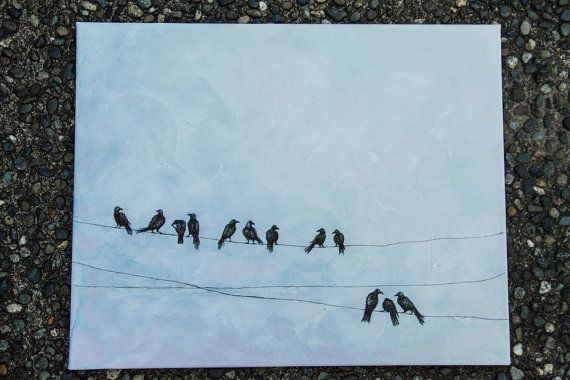 birds along the way by justthingsz on Etsy, $45.00