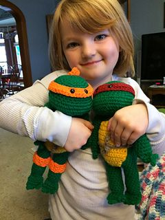 Teenage Mutant Ninja Turtle Crochet Toy free pattern