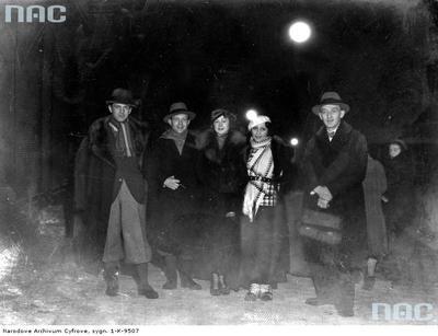 Group of artists in Zakopane, 1933