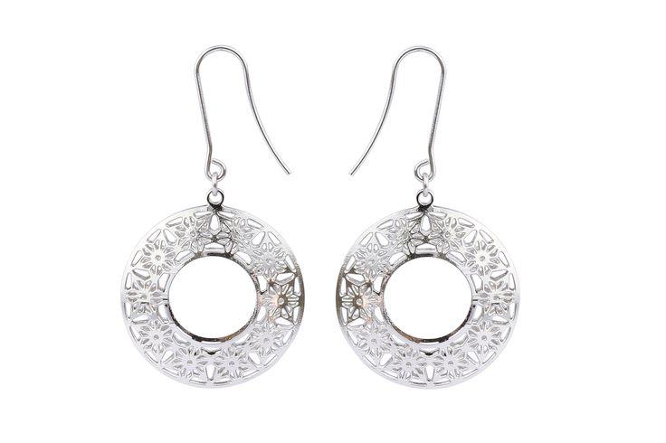 stainless steel post earrings