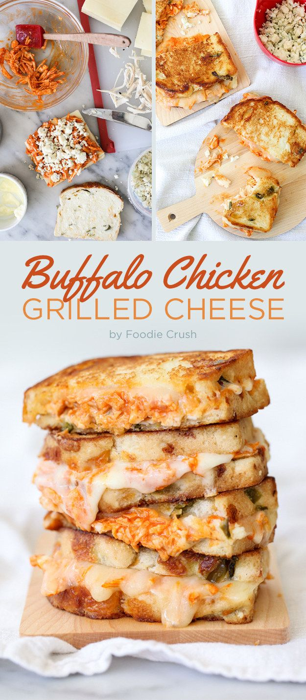 Buffalo Chicken Grilled Cheese | 7 Weeknight Dinners That Everybody Will Love