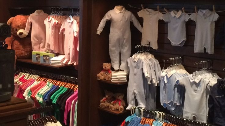 Cute Toddler Display in the TPC Sawgrass Golf Shop!