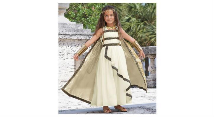 Костюм для девочки греческая богиня