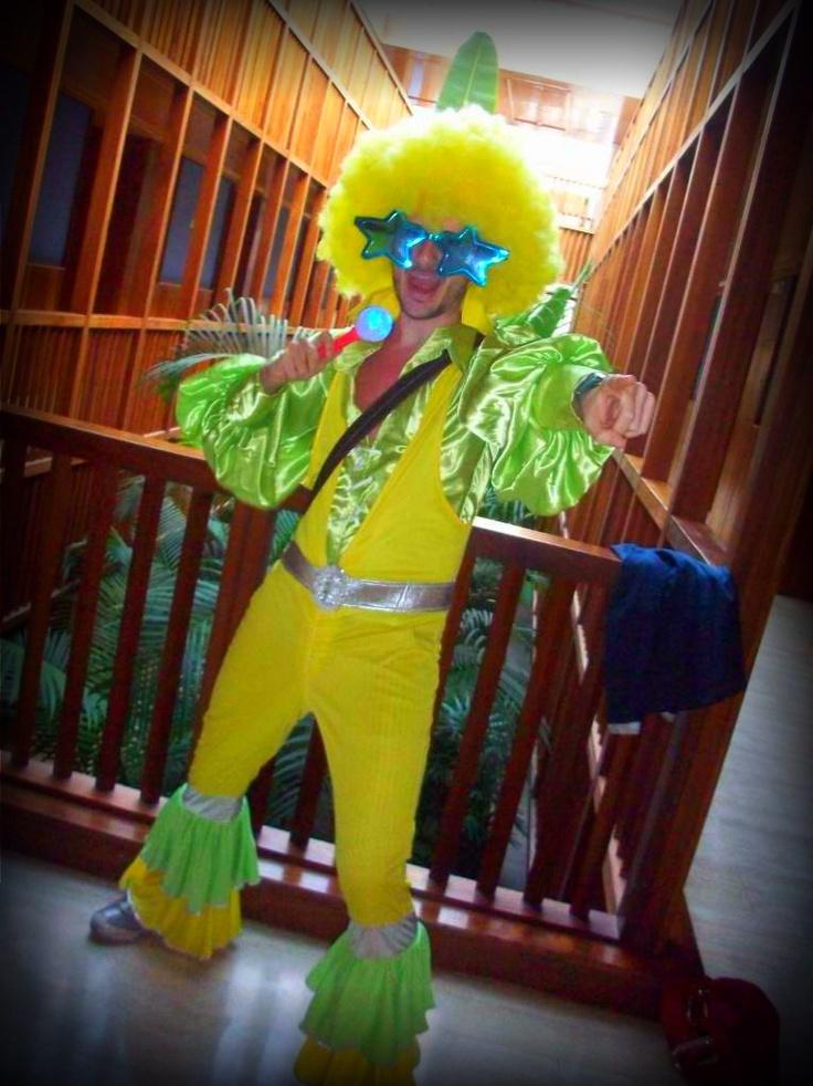 70's costume.