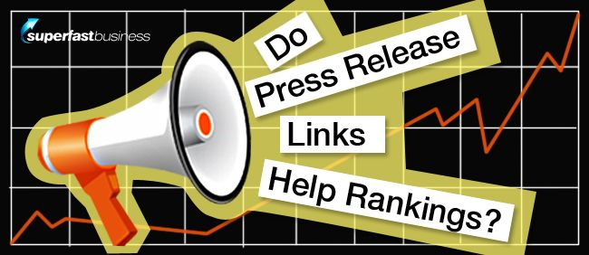 press release links do not work and it's not a valid strategy for people to implement to try and gain more links to their site.   Find out why in this SEO Series