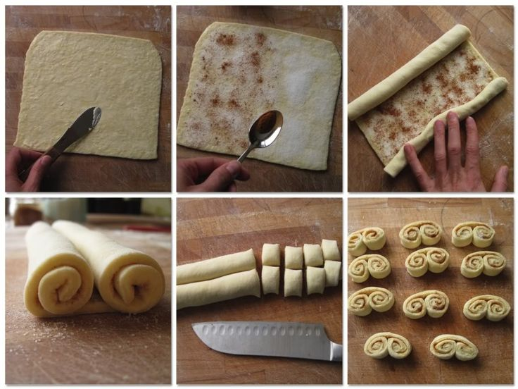 How to make scroll Danishes
