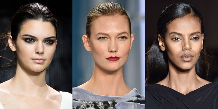 5 Fall 2015 Makeup Trends We Want to Wear Now  - ELLE.com  Well that's good to know I've already been doing most of these with my huge collection of lip colors to bronze shadow, & the easy smokey eye looks like my makeup at the end of the day hah.
