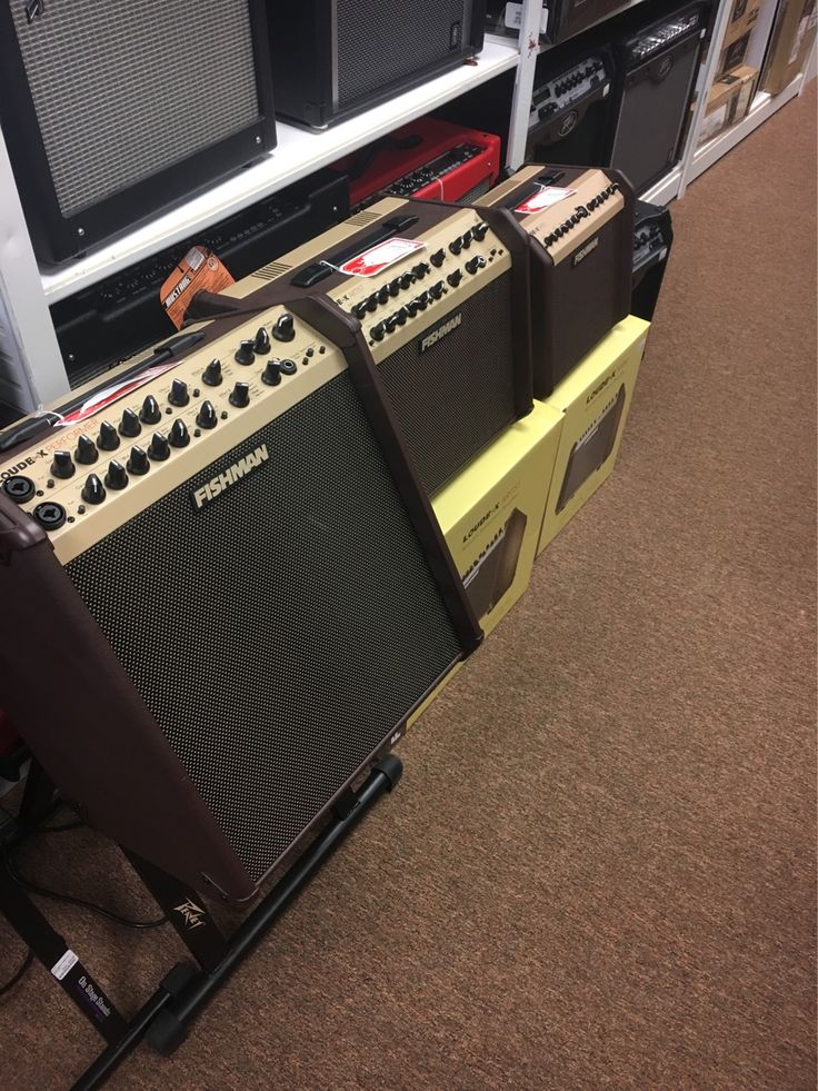 Dear Santa,  Thank you for the new Fishman amps.  They sound great.  Rob