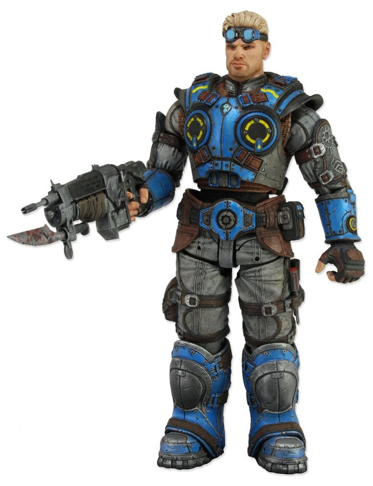 This brand new action figure of Damon Baird comes from the highly anticipated 4th game in the 20 million selling Gears of War franchise.