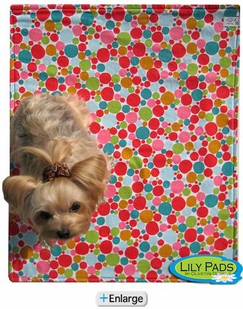 Reusable pee pads for dogs...why didn't I know about this before?!!!