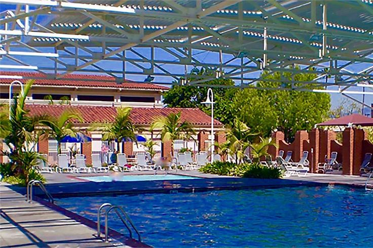 This #California retirement community has everything you'll ever want to stay fit! #BabyBoomers will enjoy the indoor AND outdoor pools! -- Location: Laguna Woods Village, CA