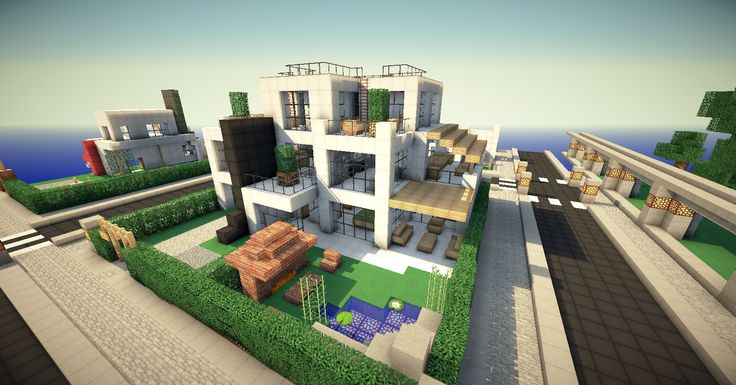 Modern Minecraft House