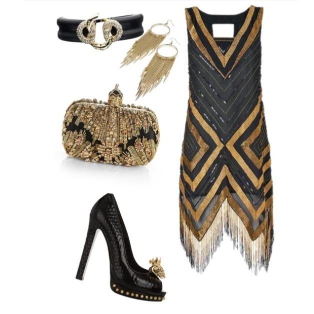 Great Gatsby Style by Stylist Javan Reed