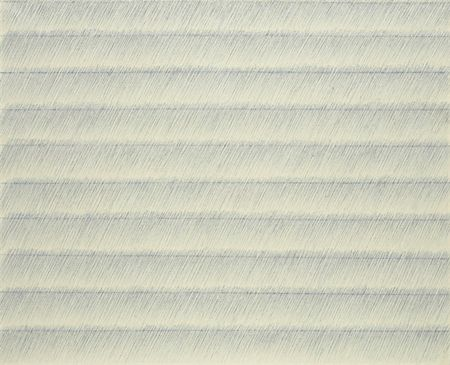 Park Seo-Bo (Korean, 박서보, b. 1931), Écriture No. 2-68, 1968–1970, mixed media on canvas, sold at K Auction, Seoul, South Korea