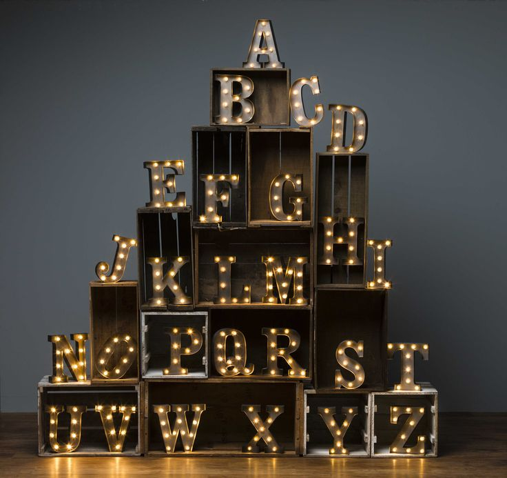 String Lights For Marquee : 1000+ images about The Edit: Lighting on Pinterest Paper lanterns, Letters and LED