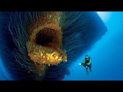 【都市伝説】海に潜む巨大な亡霊。核実験で沈められた航空母艦サラトガが超ド級のラスボスに。 - YouTube