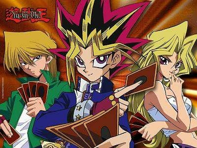 Yes, I would like to do a story like Yu-Gi-Oh!  Conflicts resolved through games instead of fisticuffs, although it'd be more like competition rather than saving the world.  I'll save that for the story with the magical cards.