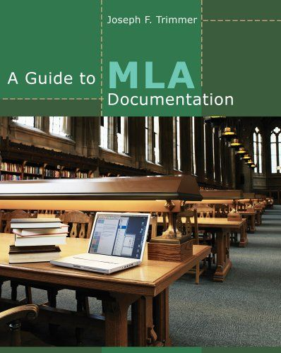 A Guide to MLA Documentation - Briefer, more affordable, and easier to use than the MLA's own handbook, this popular booklet features current MLA guidelines, a new section on evaluating online sources, and an up-to-date APA appendix. The guide also p