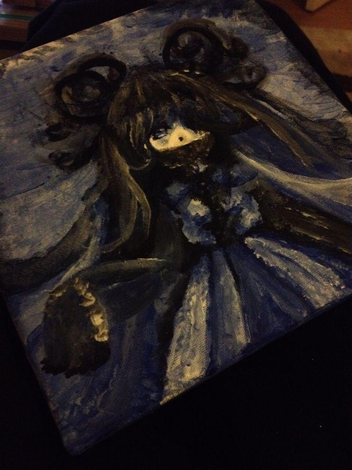 Simple painting for fun :3 #anime #manga #girl #painting