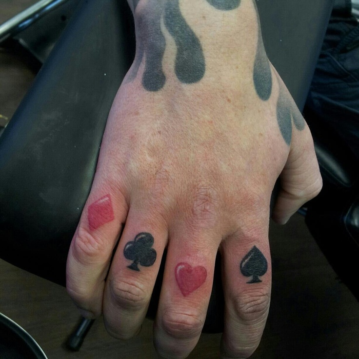 66 best Knuckle tattoos images on Pinterest | Finger tats
