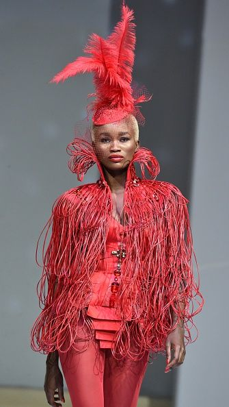 Cameroonian designer Martial Tapolo
