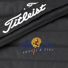 Embroidery here is used on a messenger bag.