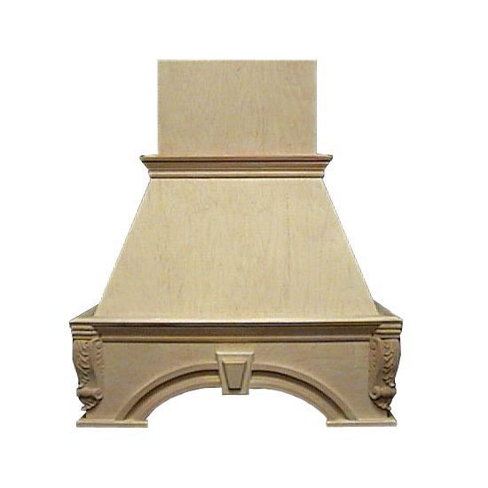Range Hoods - Air-Pro (Formerly Fujioh) Decorative Keystone Wall Mount Wood Range Hood - Customized to Fit Your Kitchen   KitchenSource.com