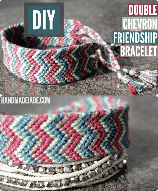 Double Chevron Friendship Bracelet
