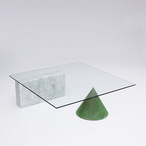 Kono coffee table, Lella and Massimo Vignelli