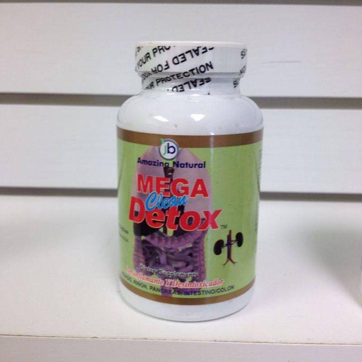Capsulas Mega Clean Detox, es recomendable empezar un programa dietético con una limpieza y desintoxicación del cuerpo antes de comenzar su meta de pérdida de peso.