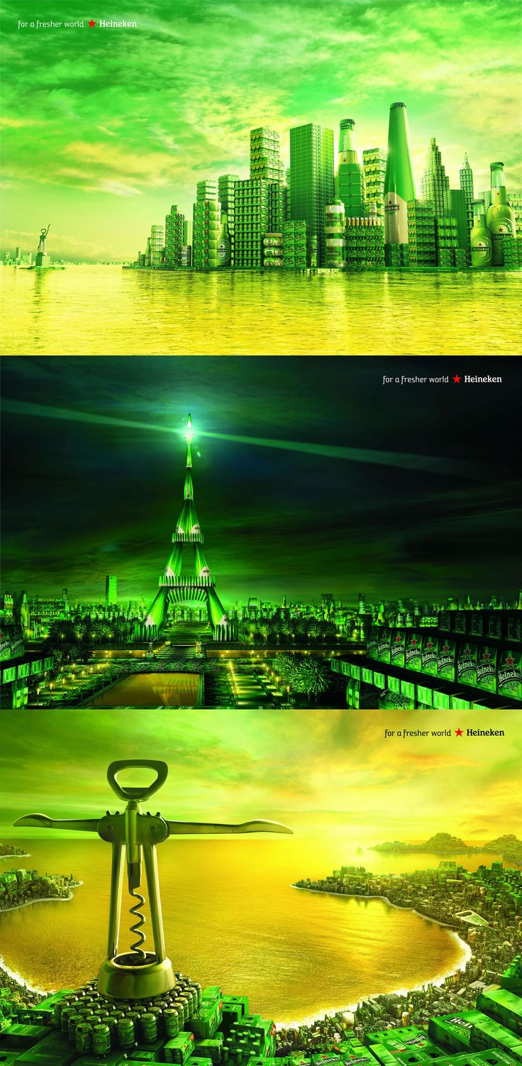 Heineken - Manhattan, Paris, Rio - Heineken - Corporate Storytelling - Powered by DataID Nederland